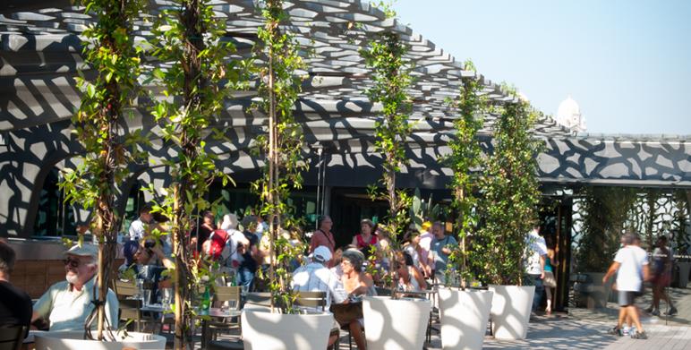 Le restaurant le m le de g rald passedat au mucem - Restaurant avec jardin aix en provence ...