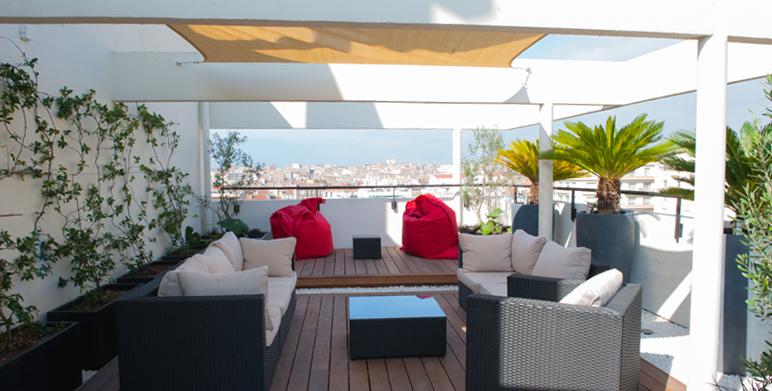 Terrasse terrasse jardin ville accueil design et mobilier for Terrasse en ville
