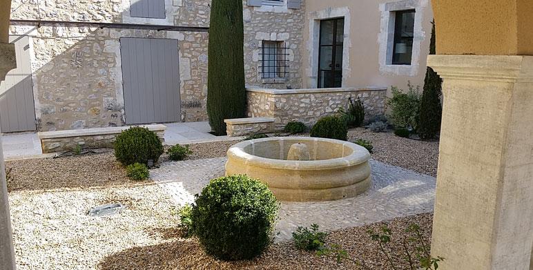 jardin proven al eygali res alpilles architecte paysagiste thomas gentilini cr ation et. Black Bedroom Furniture Sets. Home Design Ideas