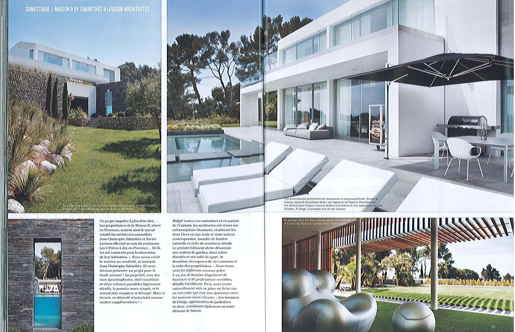Artravel n 68 architecte paysagiste thomas gentilini cr ation et am nagement jardin for Architecte paysagiste marseille