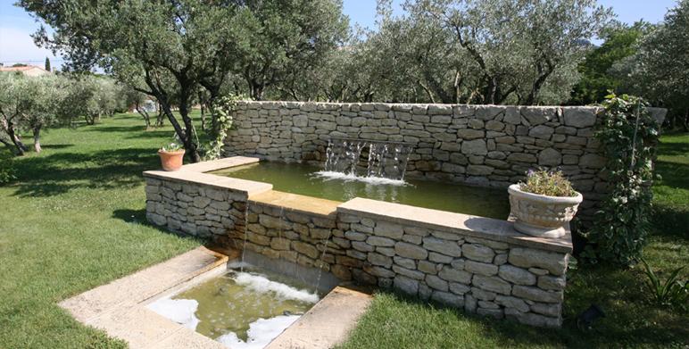 Jardin priv saint r my de provence 13 architecte for Paysagiste creation jardin