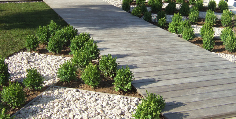Jardin en damiers marseille architecte paysagiste - Jardins mediterraneens amenagement ...