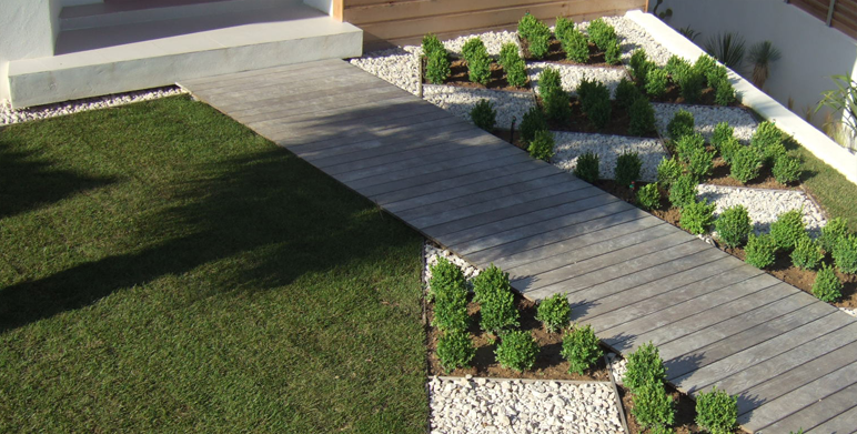 Jardin en damiers marseille architecte paysagiste - Creation jardin mediterraneen saint paul ...