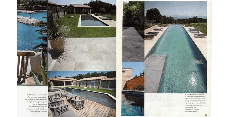 Journal la provence architecte paysagiste thomas gentilini cr ation et am nagement for Architecte paysagiste marseille