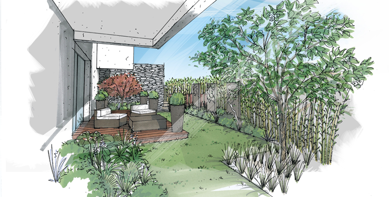 Perspectives architecte paysagiste thomas gentilini for Dessiner un jardin gratuit