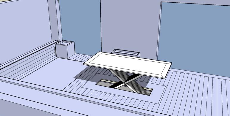 Table automatis e aix en provence architecte paysagiste thomas gentilini cr ation et - Table jardin beton marseille ...