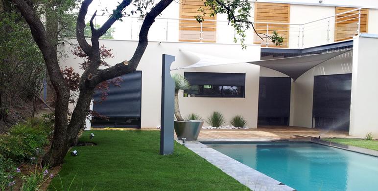 jardin villeneuve les avignon gard architecte paysagiste thomas gentilini cr ation et. Black Bedroom Furniture Sets. Home Design Ideas