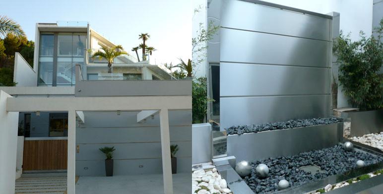 Jardin Contemporain Avec Terrasses Roucas Blanc Marseille Architecte Paysagiste Thomas