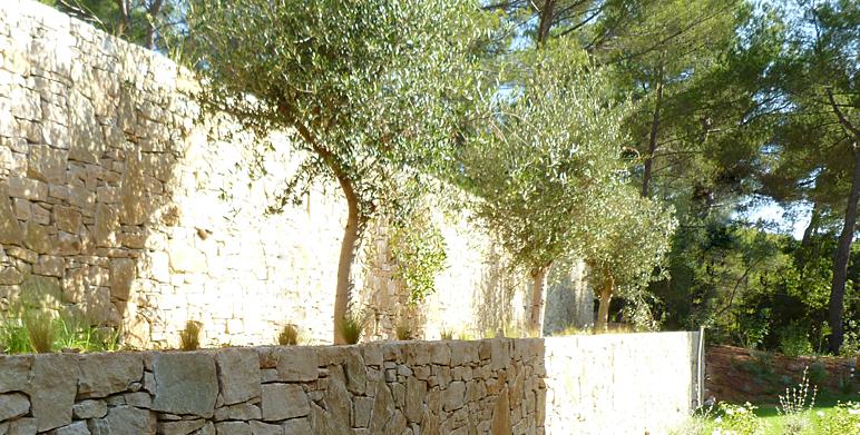 Jardin m diterran en moderne aix en provence architecte paysagiste thomas gentilini - Recuperar jardin aixen provence ...